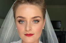 2FM's Louise McSharry got married yesterday and looked only gorgeous