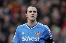 John O'Shea starts for Sunderland, West Ham's Ireland U19 starlet makes bench