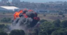 Seven people confirmed dead after plane crashed onto motorway
