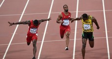 Usain Bolt beats Justin Gatlin by a nose in thrilling World Championship 100m final