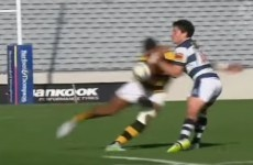 We're going to have nightmares after seeing this monstrous tackle in New Zealand