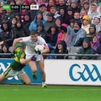 Joe Schmidt will have been impressed with Kerry and Tyrone's rugby skills today