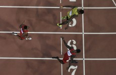 10 perfect images of Usain Bolt beating Justin Gatlin