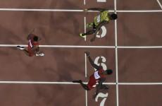 10 perfect images of Usain Bolt beating Justin Gatlin