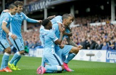 David Silva shines as Man City eventually outclass Everton