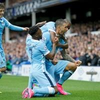 David Silva shines as Man City eventually outclass Everton