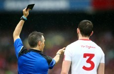 'It just doesn't seem to make sense' - Mickey Harte baffled by black card rule