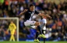 Irish midfielder on target and the rest of the weekend's Championship action