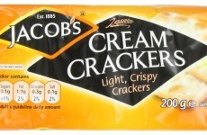 The recipe for Jacobs cream crackers has not changed, and we can all stand down