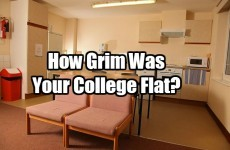 How Grim Was Your College Flat?