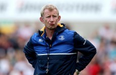 Still room for 'right person' as Leinster's backs coach under Cullen