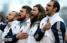 Italy's most capped player left out of 31-man World Cup squad