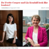This magazine questioned whether two female politicians were good looking enough to be leaders