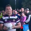 An Irish emigrant had one kick to win $10,000 on an Australian rugby show last week