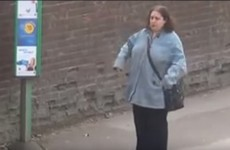 This woman dancing at a bus stop has become a viral sensation