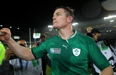 'We're not getting carried away,' insists O'Driscoll