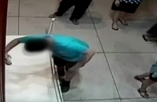 This kid tripped in an art gallery and punched a hole in a €1.3million painting