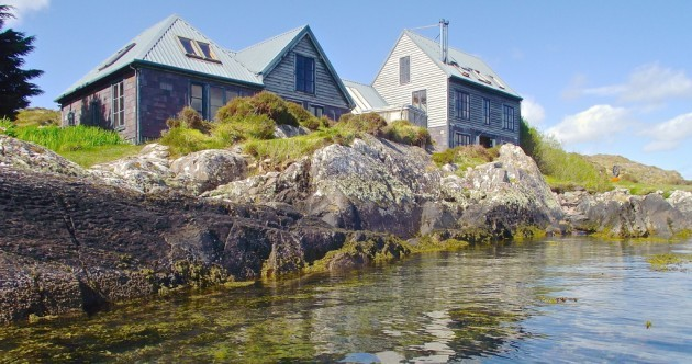 Fancy your own private island? It comes with its own house, cottage, hot tubs and slipways...