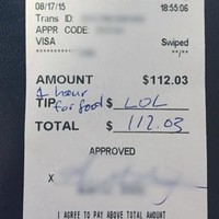 These diners are being called the 'worst customers ever' for leaving a waitress this 'tip'