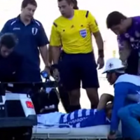 Footballer finds ingenious new way to waste time