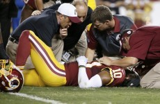 Why does one NFL team continue to let their star QB get injured?