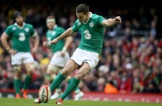 'It's about staying in the moment' - Ireland's Sexton on place-kicking success