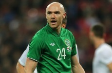 Former Irish international has an early contender for miss of the season