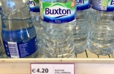 Tesco Ireland says it will refund people who paid €4.20 for a bottle of water