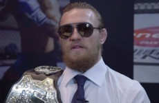 Conor McGregor wanted to fight Urijah Faber at UFC Dublin in October