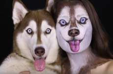 Watch: Woman transforms herself into dog using some amazing make-up skills