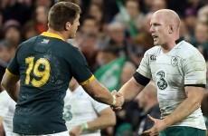 Three Irish forwards make Bakkies Botha's World Cup dream team