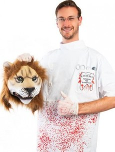 Price of Cecil the Lion 'killer dentist' costume increased due to demand