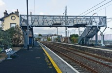 Rail services delayed as man runs onto tracks to evade gardaí