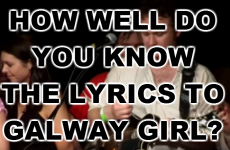 How Well Do You Know The Lyrics To Galway Girl?