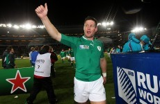 Tearful O'Gara announces his intentions to retire following World Cup