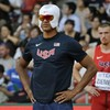 Why is this US athlete wearing a superhero mask at the World Championships?