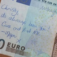 Here's what happened with that romantic €20 note