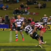 There were two monster hits within two minutes in the ITM Cup this morning