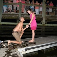 This guy's proposal got off to a horrible start until a stranger saved the day