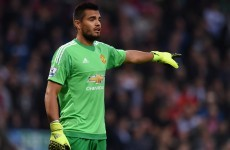 Louis van Gaal unsure if Sergio Romero will replace De Gea long-term