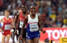 'The greatest British athlete of all time' - Mo Farah wins historic world gold