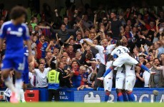 Chelsea suffer second loss in 100 home games under Mourinho
