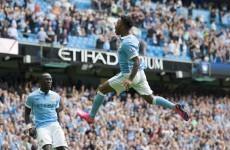 Man City continue 100% start to the season with club record win, West Brom defeat nine-man Stoke City