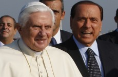 Berlusconi said meetings with Pope and European leaders interfered with partying
