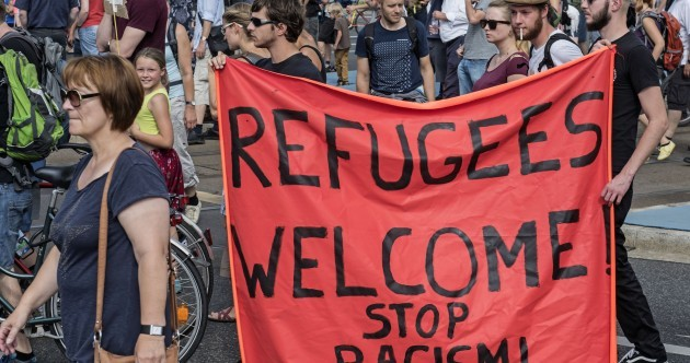 One country is going out of its way to welcome refugees heading for Europe