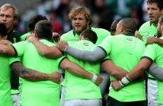 South Africa's participation in the Rugby World Cup could be in doubt