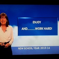 Evelyn Cusack ruined every Irish kid's Sunday evening last night