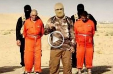 Islamic State posts video of men being strung up and burnt alive
