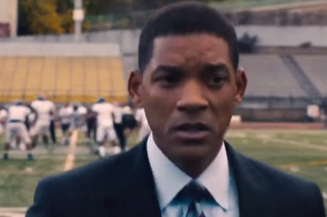 Will Smith stars in a new movie about CTE and concussion.