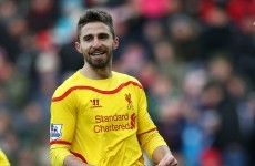 Fabio Borini's Liverpool career is now officially over
